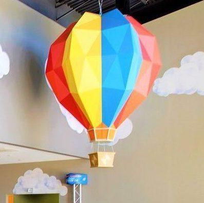 Victory World Church hot air balloon