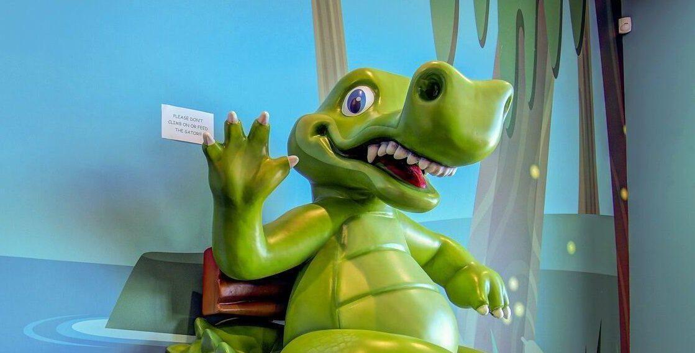 Summerville Pediatric Dental alligator