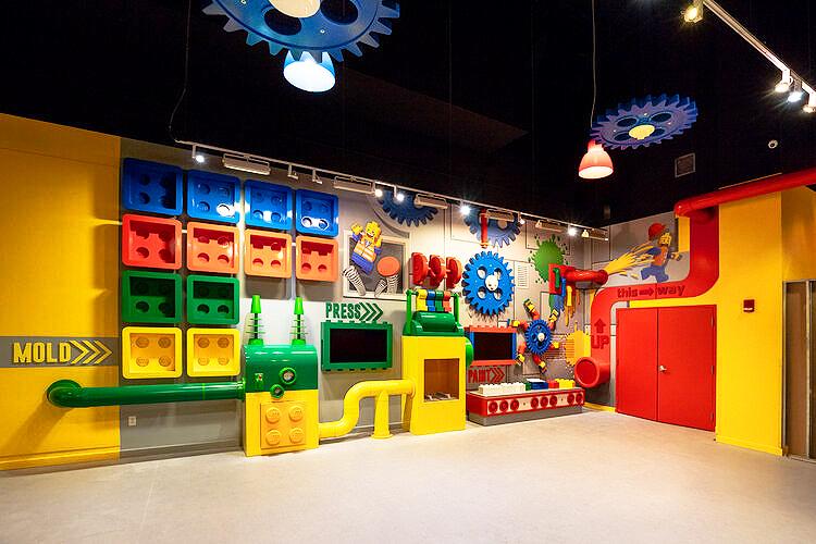 Legoland wall