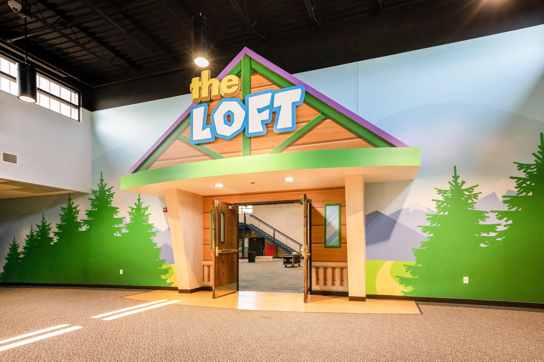 Cute Loft entrance