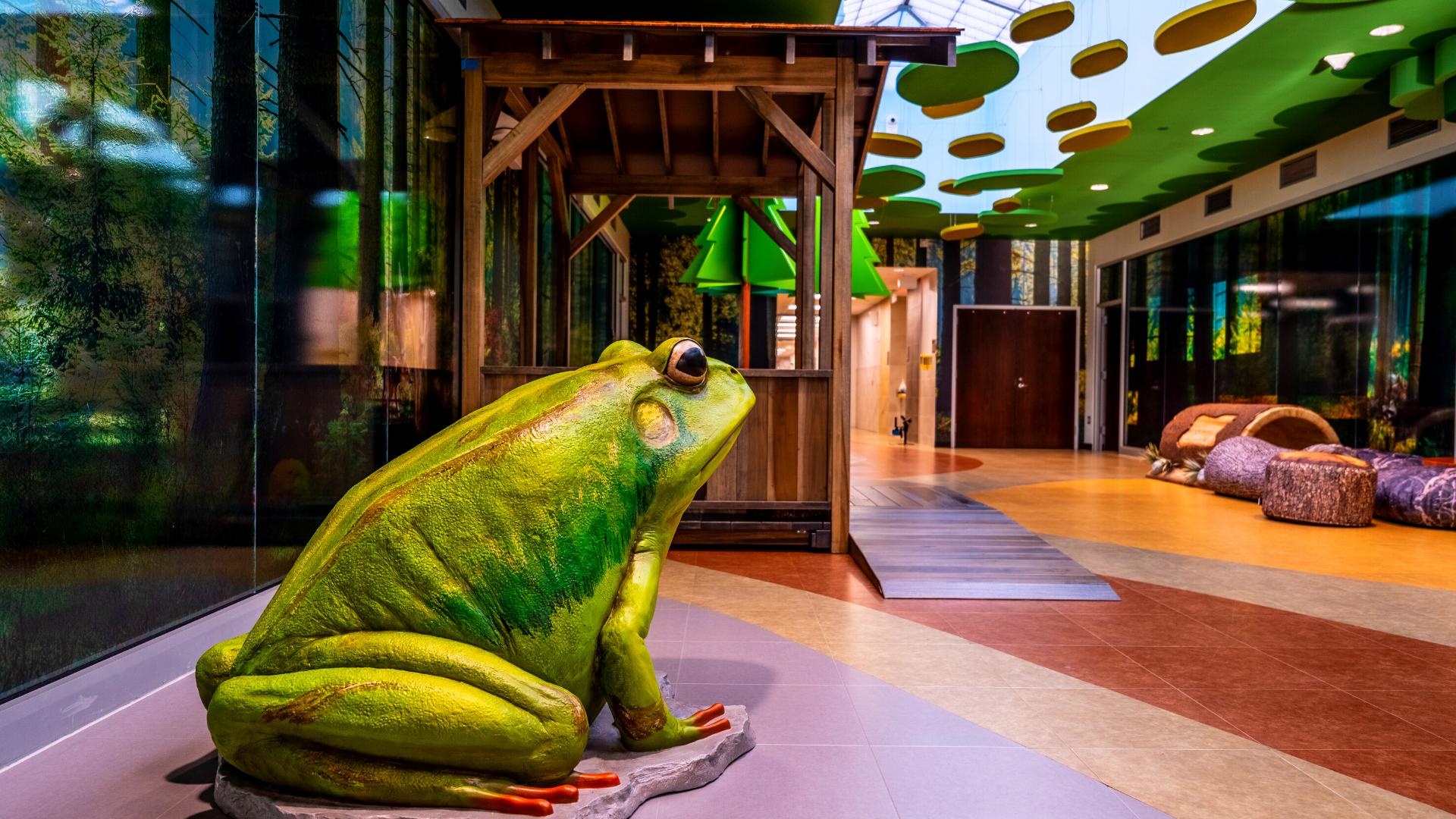 Fun frog room